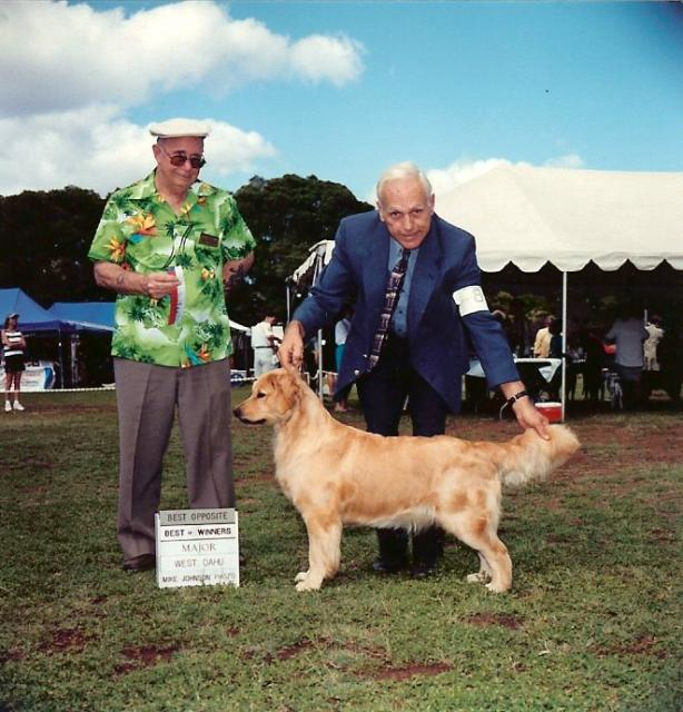 Maizy taking BOW BOS at WOKC with Ardie handling